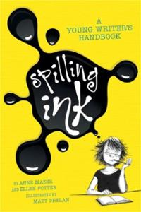 spilling-ink-young-writers-handbook-anne-mazer-paperback-cover-art