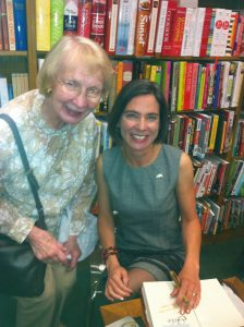 Katy and SCBWI RA Emerita, Tekla White at the launch of GILT.